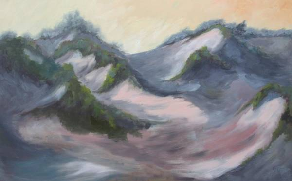Island Dunes Art Print