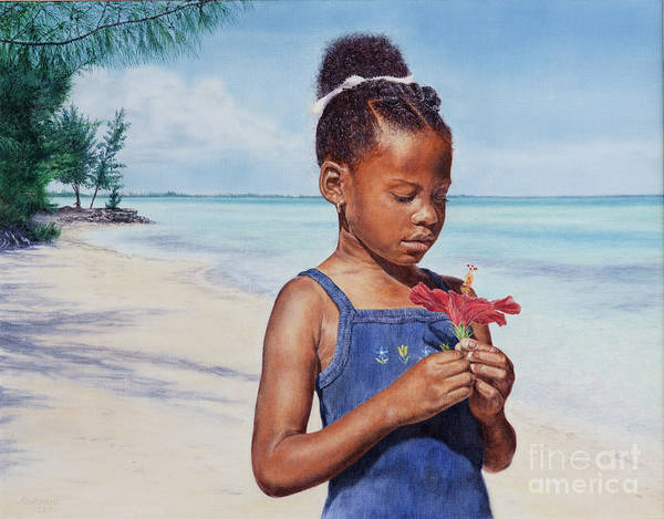 Painting - Island Flowers by Roshanne Minnis-Eyma