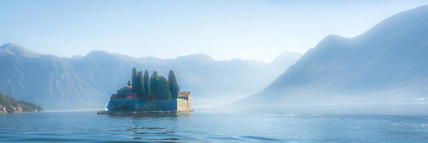 Photograph - Island In Kotor Under Fog by Francisco Gomez