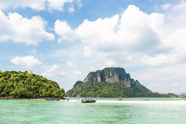 Photograph - Island In Krabi In South Thailand by Didier Marti