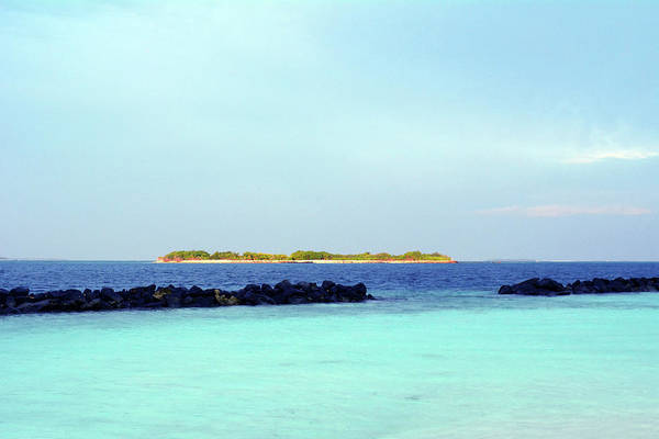 Photograph - Island In The Maldives With Turquoise Water by Oana Unciuleanu