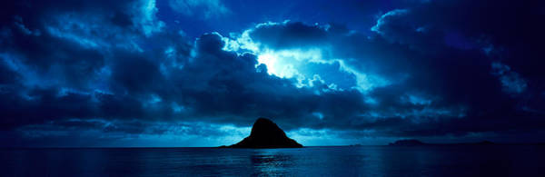 Mokolii Photograph - Island In The Sea, Chinamans Hat by Panoramic Images