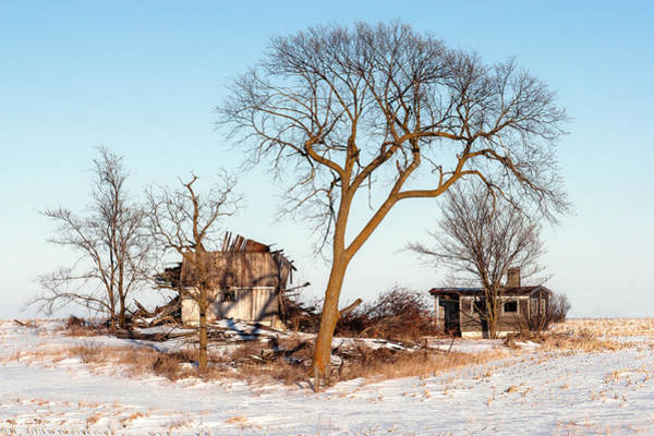 Photograph - Island In The Snow by Todd Klassy