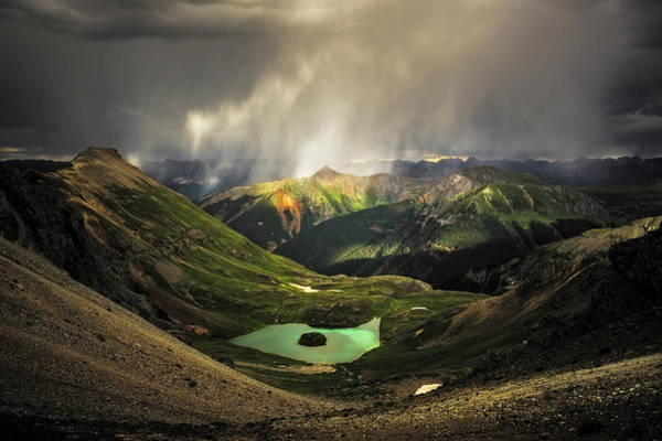 Photograph - Island Lake by Whit Richardson