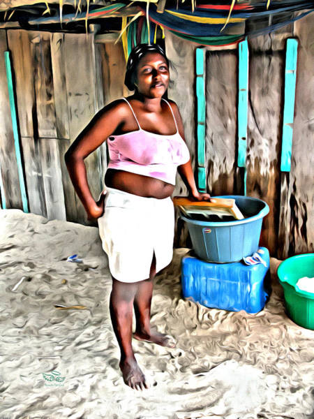 Photograph - Island Laundry by Beauty For God