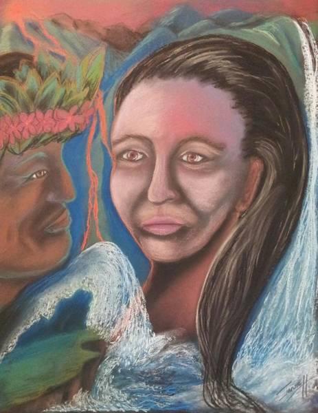 Wall Art - Pastel - Island Legend by Janne Henn