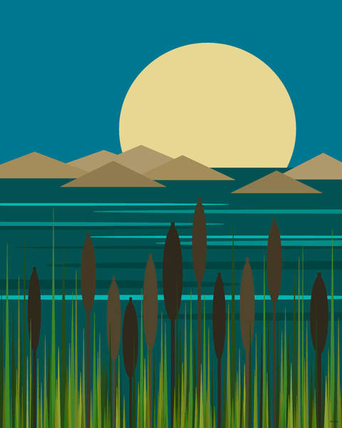 Digital Art - Island Life Sunrise by Val Arie