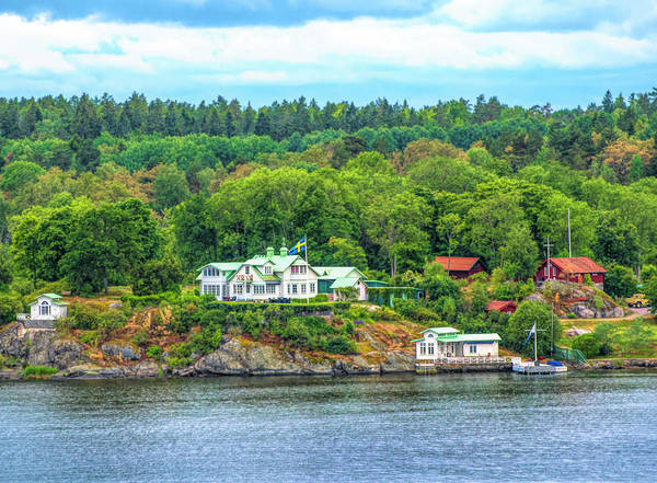 Photograph - Island Living, Swedish Style by Mick Burkey