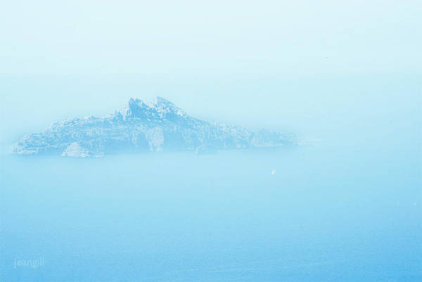 Photograph - Island Lurking, Calanques, France by Jean Gill