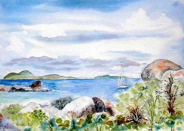 Painting - Island Memories by Diane Kirk