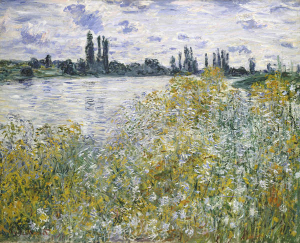 Painting - Island Of Flowers Near Vetheuil by Claude Monet