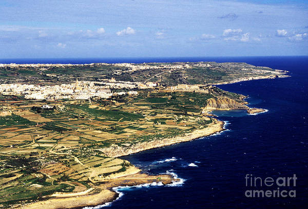 Photograph - Island Of Gozo Aerial View by Thomas R Fletcher