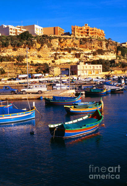 Photograph - Island Of Gozo Mgarr Harbor by Thomas R Fletcher