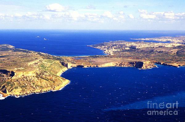 Photograph - Island Of Malta Aerial View by Thomas R Fletcher