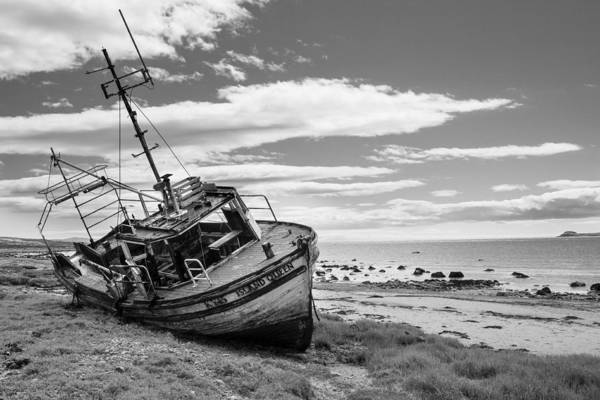 Abandon Ship Photograph - Island Queen Landscape by Chris Dale