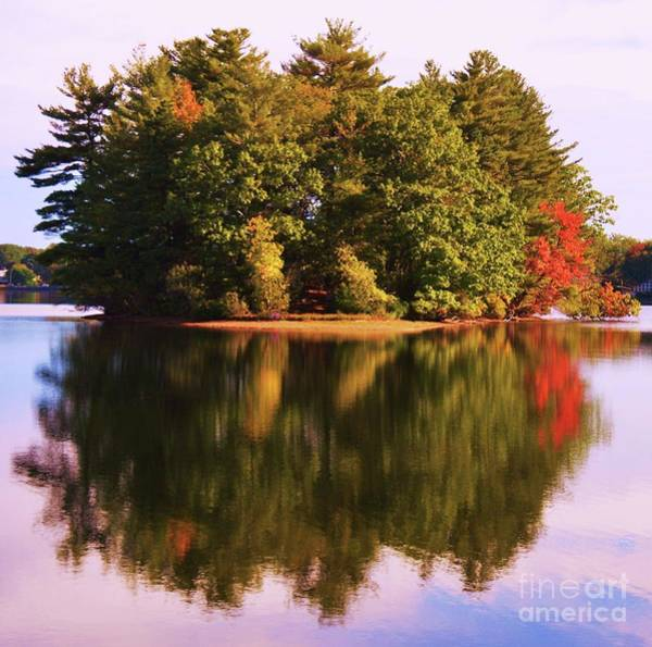 Willett Photograph - Island Reflections by Poet's Eye