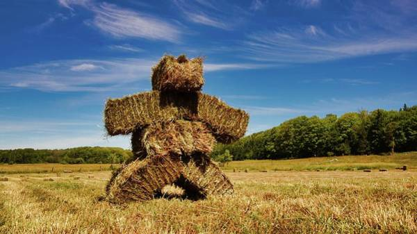 Photograph - Island Strawman by Bryan Smith