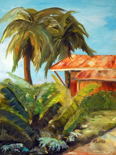 Painting - Island Sugar Shack by Phil Burton