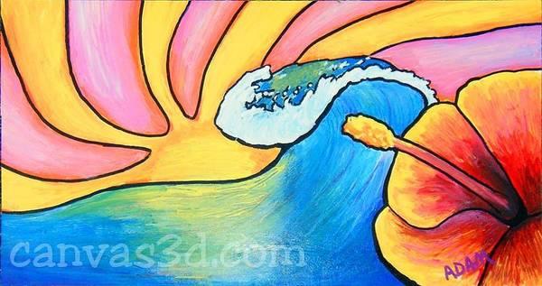 Painting - Island Summer by Adam Johnson
