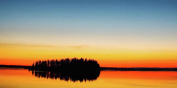 Ian Macdonald Photograph - Island Sunset by Ian MacDonald
