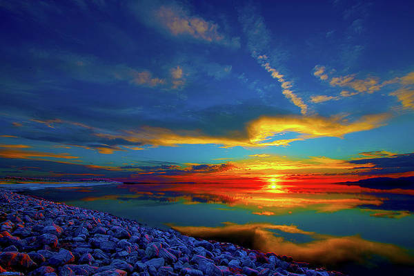 Photograph - Island Sunset by Norman Hall