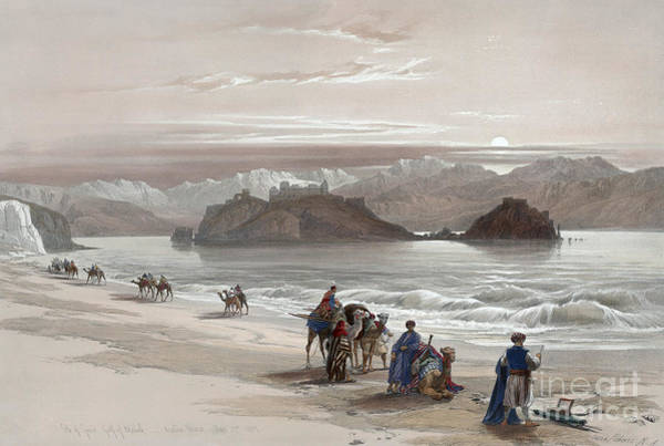 Drawing - Isle Of Graia, 1839 by Granger