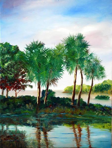 Painting - Isle Of Palms by Phil Burton