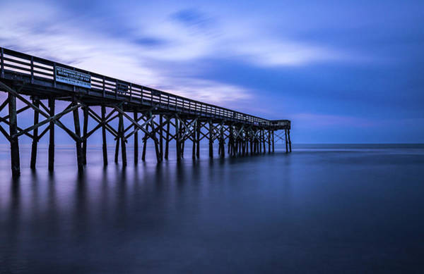 Photograph - Isle Of Palms Pier by Donnie Whitaker
