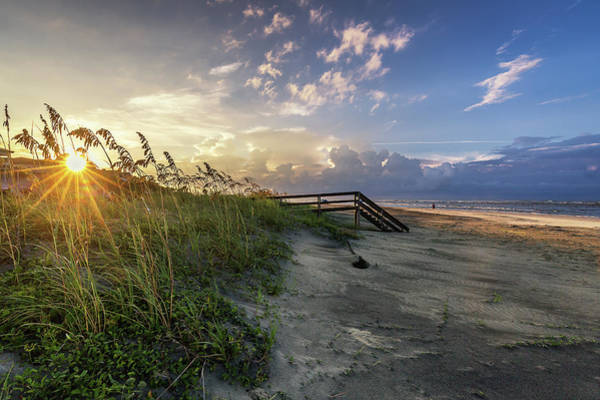 Photograph - Isle Of Palms Sunstar by Donnie Whitaker