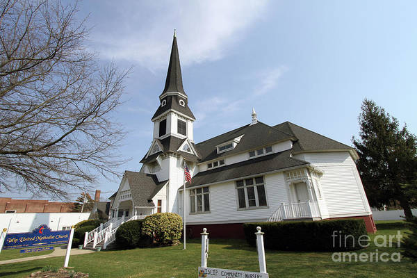 Photograph - Islip United Methodist Church by Steven Spak