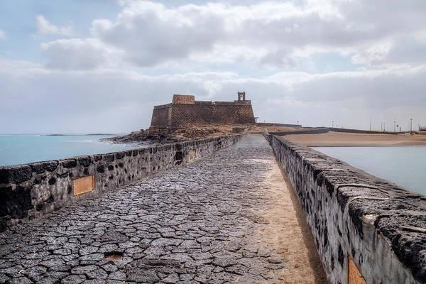 Castillo Wall Art - Photograph - Islote De Los Ingleses - Lanzarote by Joana Kruse