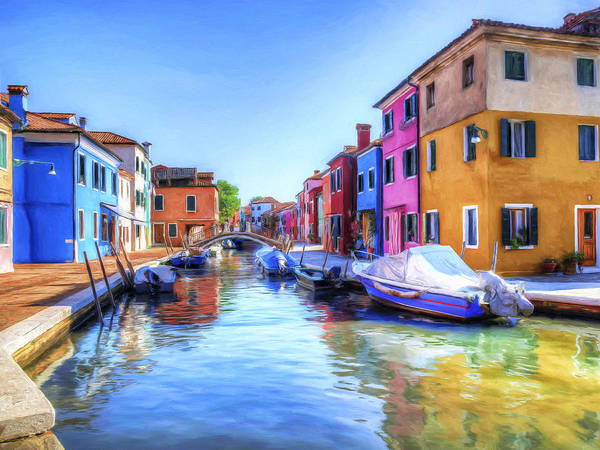 Painting - Isola Di Burano 2 by Dominic Piperata