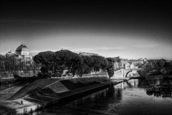 Tiber Island Wall Art - Photograph - Isola Tiberina by Brian Thomson