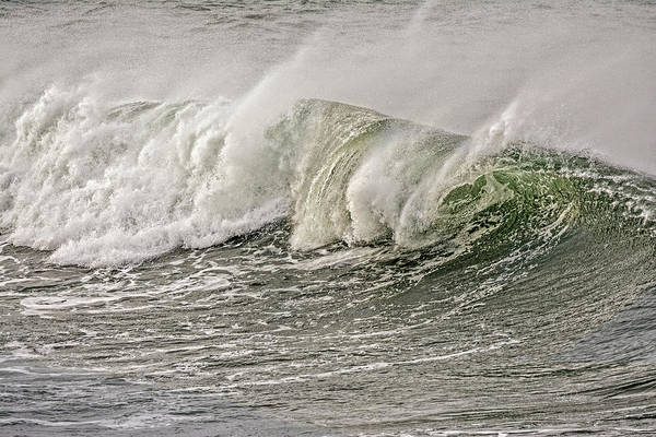 Photograph - Isolated Wave by Bill Posner