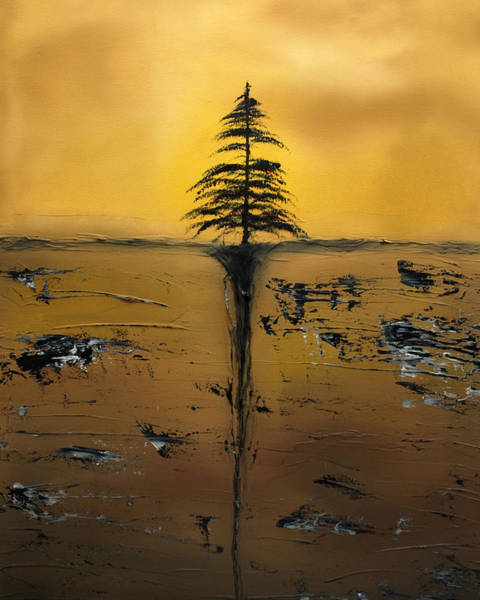 Desolation Painting - Isolation by Rob Tullis