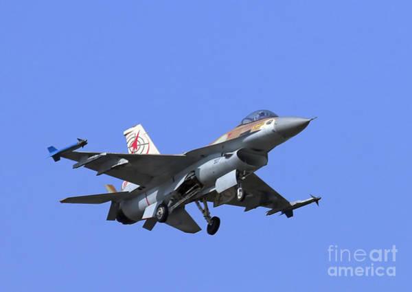 Photograph - Israeli Air Force F-16c #307 by Amos Dor