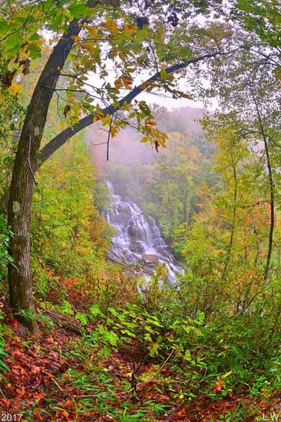 Photograph - Issaqueena Falls Vertical by Lisa Wooten