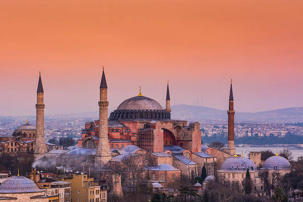 Sancta Sophia Photograph - istanbul Hagia sofia museum by Michael Patakos