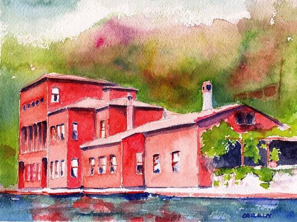 Painting - Istanbul Hekimbasi Salih Efendi 1 by Carlin Blahnik CarlinArtWatercolor
