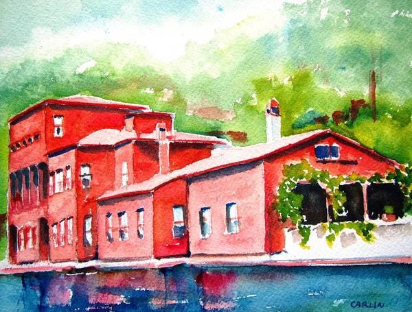 Painting - Istanbul Hekimbasi Salih Efendi 2 by Carlin Blahnik CarlinArtWatercolor