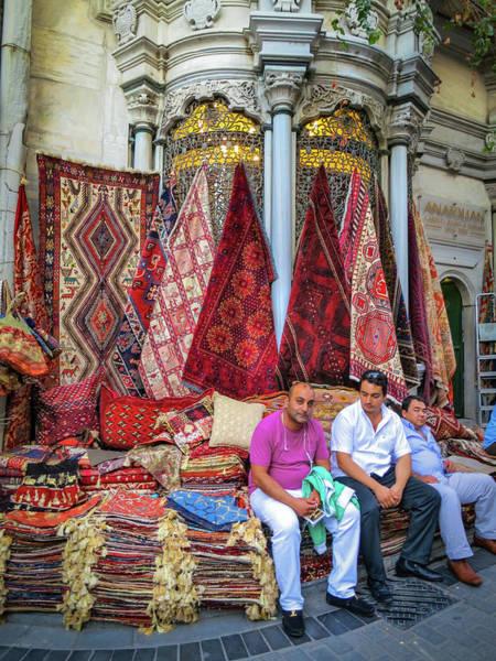 Photograph - Istanbul Rug Merchants by Ross Henton