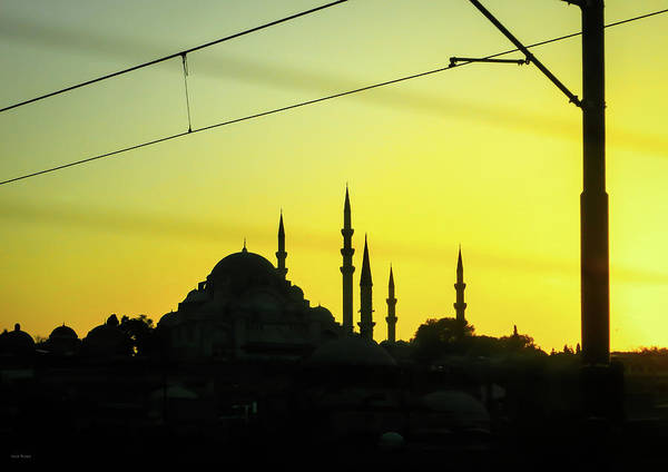 Photograph - Istanbul Sunset by Ross Henton
