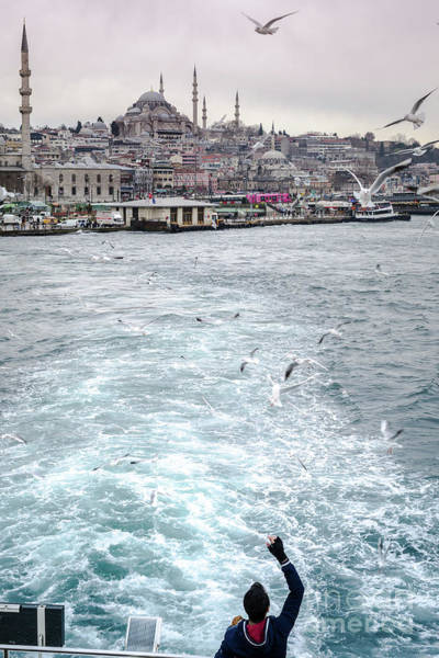 Photograph - Istanbul To Kadikoy, Ferry Ride On The Golden Horn by Perry Rodriguez
