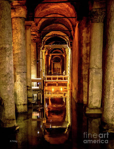 From Russia With Love Wall Art - Photograph - Istanbul Underground Cistern 2 by Rene Triay Photography