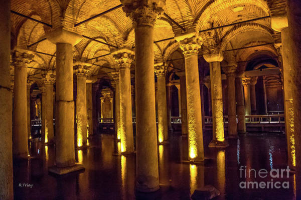 From Russia With Love Wall Art - Photograph - Istanbul Underground Cistern 4 by Rene Triay Photography
