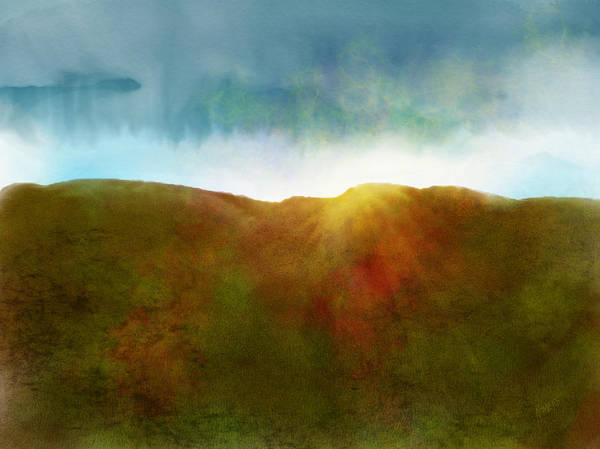 Wall Art - Digital Art - It Began To Dawn by Antonio Romero