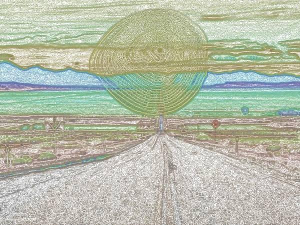 Digital Art - It Comes by Vincent Green