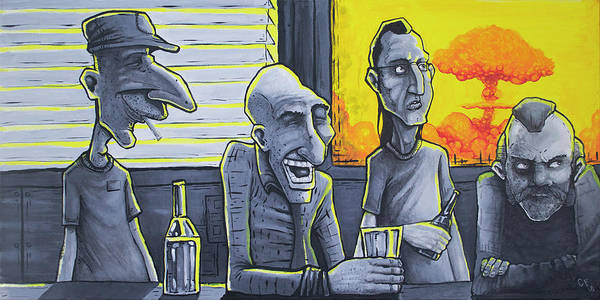Wall Art - Painting - It Could Always Be Worse by Chase Fleischman