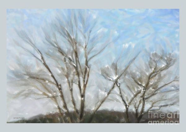 Painting - It Is Cold Outside by Gerlinde Keating - Galleria GK Keating Associates Inc