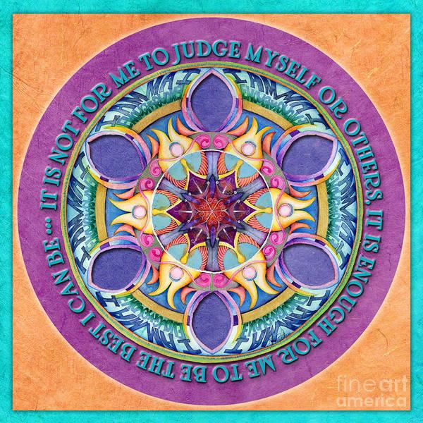 Painting - It Is Enough Mandala Prayer by Jo Thomas Blaine